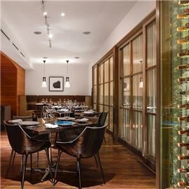 Main Dining Room and wines