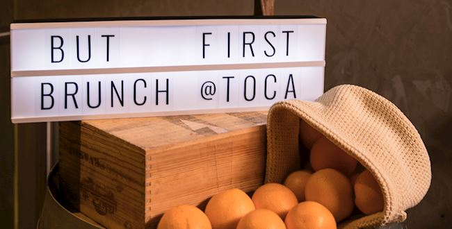 But First, Brunch at TOCA